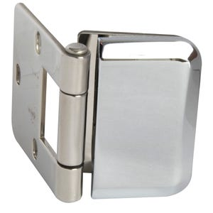 Stainless Steel Inset Glass Door Hinge