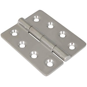 "Stainless Steel Surface Mounting Butt Hinge 3.2"" x 3.92"""