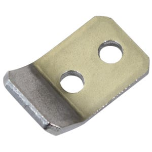 Stainless Steel Two Hole Keeper