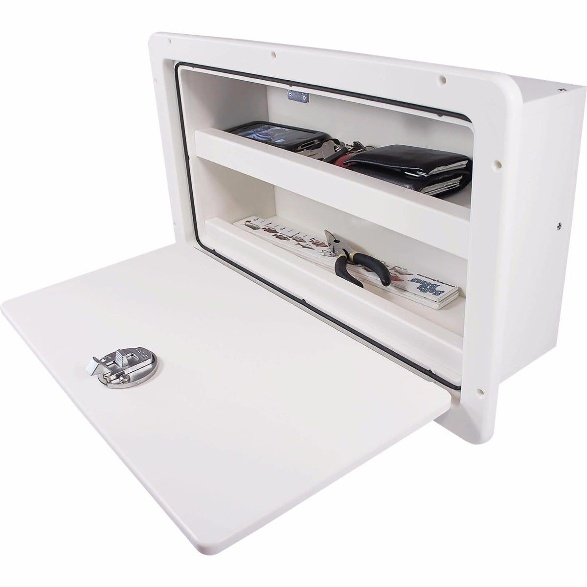 Storage Box With Shelf