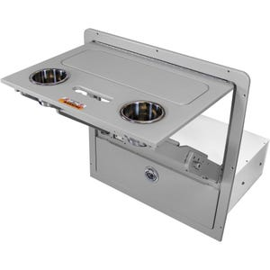 Bennington Folding Table Drawer Combo