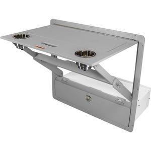 Barletta Folding Table Drawer Combo