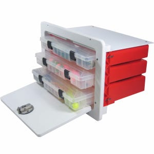 Tackle Box with 3 Plano Trays