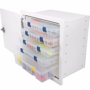 Tackle Box with 5 Plano Trays