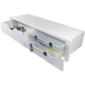 Tackle Center with 2 Planos and 1 Drawer