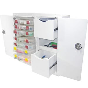Tackle Storage Unit - 2 Drawer, 7 Tray
