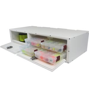 Tackle Storage Center with 4 Plano Trays