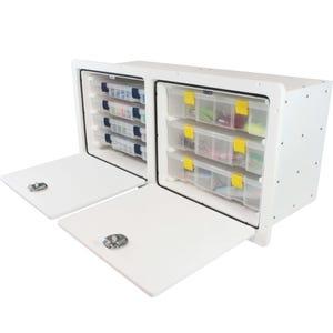 Tackle Storage Unit - 2 Door, 7 Tray