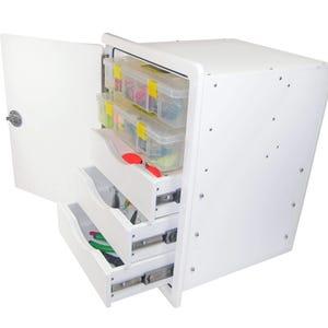 Tackle Storage Unit - 3 Drawer, 2 Tray