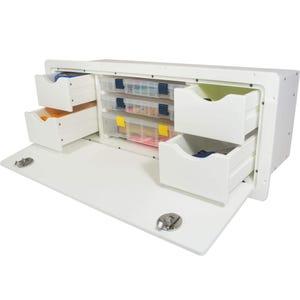 Tackle Storage Unit - 4 Drawer, 3 Tray