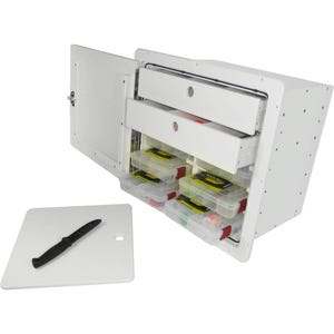 Tackle Storage Unit with Cutting Board