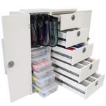 Tackle Storage Unit with Removable Doors