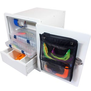 Tackle Unit with Drawer, Trays and Bag