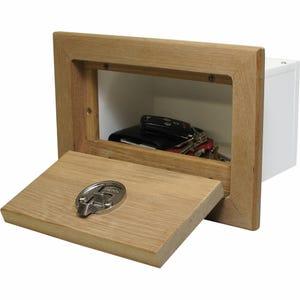 Teak Framed Glove Box
