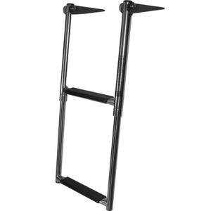 Telescoping 2 Step Stainless Steel Boat Ladder