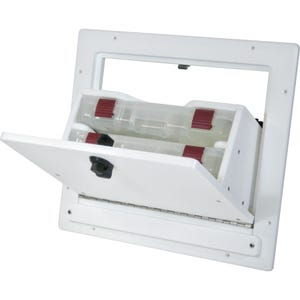 Removable Tilt out Tackle Box with 2 Plano Trays