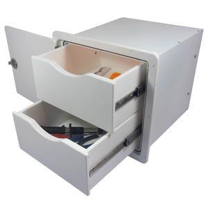 Two Drawer Storage Unit