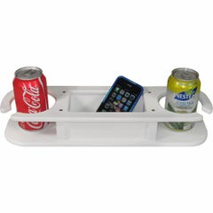 Two Drink Holder with Storage Box