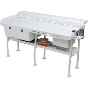 Ultimate Dock Fillet Table with Sink and Drawers