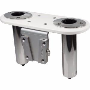 V-Lock Stainless Steel Rod Holder - Straight