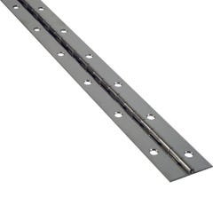 """1-1/2"""" Wide Stainless Steel Piano Hinge"""