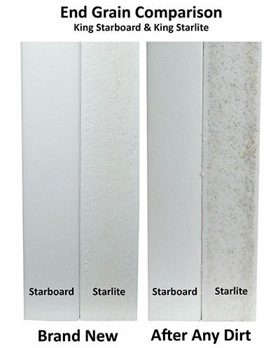 King Starboard and King Starlite Comparison