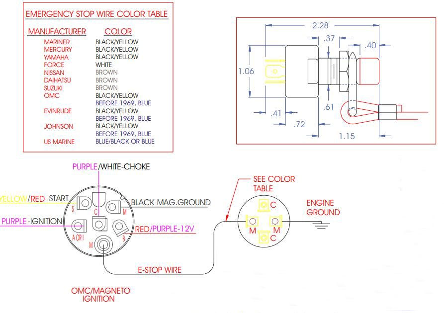 Diagram  Wiring Diagram Boat Kill Switch Full Version Hd